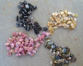 SHOP SALE - use Coupon Code TABOU15  to get 15 pct off - Multicolor Tourmaline Chip Beads - loose strand