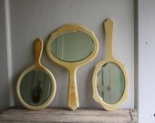 celluloid hand mirror collection