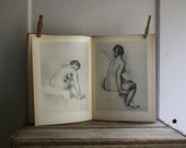 1940s Renoir art book