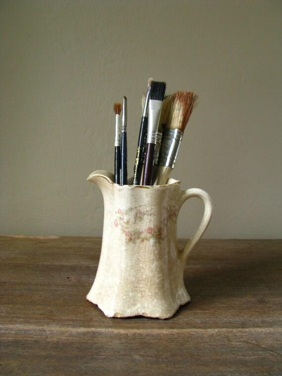 antique tst avona china CREAMER pitcher