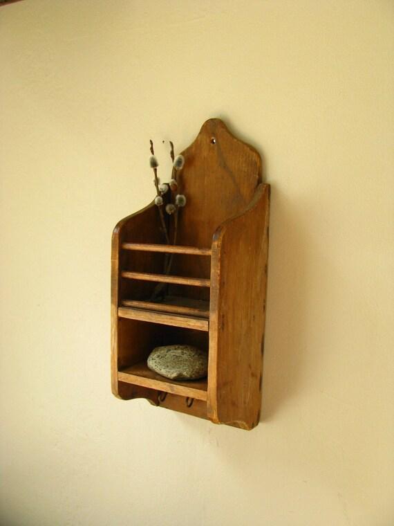 Small Wood Shelf Antique By Littlebyrdvintage On Etsy