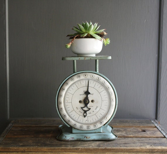 Antique Kitchen Scale: Antique Pelouze Kitchen Scale By Littlebyrdvintage On Etsy