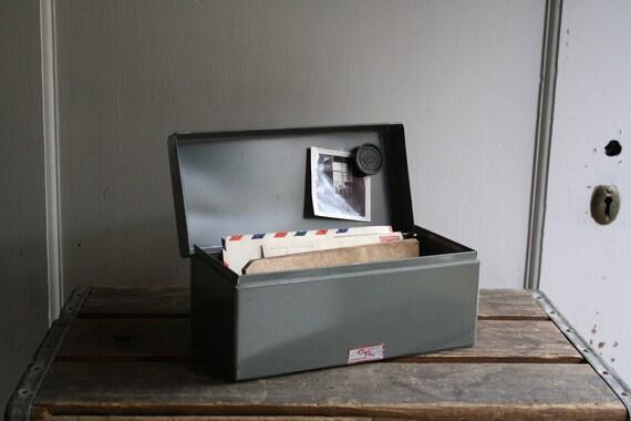 vintage file box