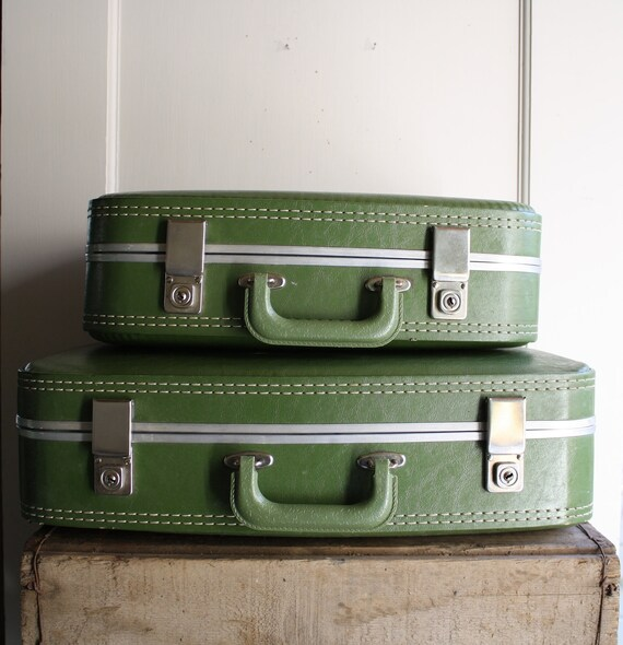 vintage luggage set