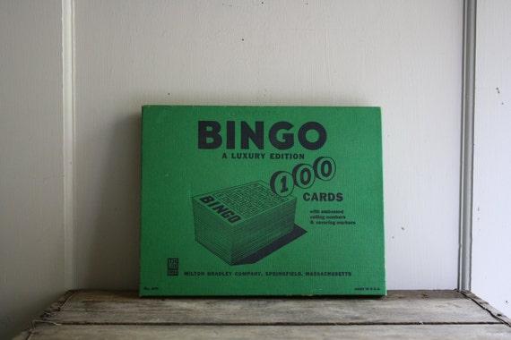 vintage 1950s Bingo game complete set