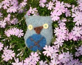 Herman the Recycled Sweater Owl