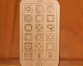 WPhone Organic Wooden iPhone Smart Phone Toy