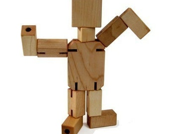 Maple Man Wooden Toy - Kids Handmade Natural Wood Toy - Toys for Kids Boys and Girls