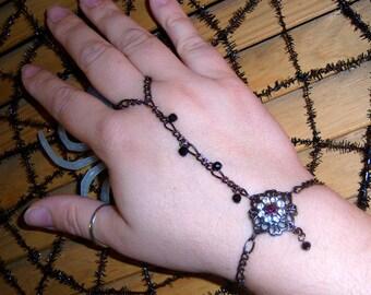 chains of black ...slave bracelet