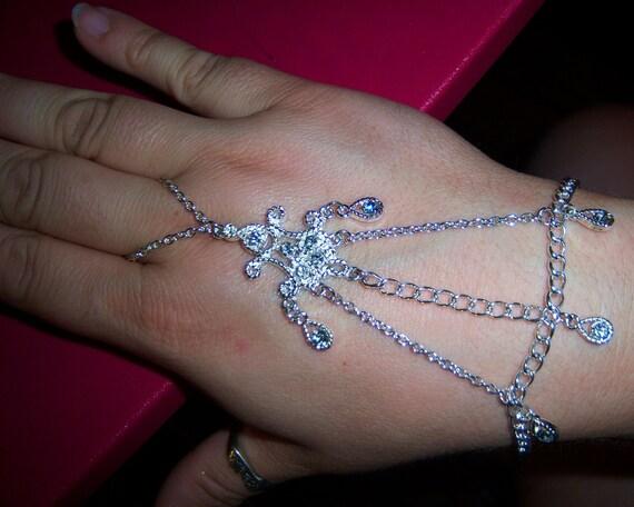 crystal crazy slave bracelet