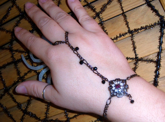 chains of black ...slave bracelet
