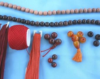 Custom Wrist Mala Restringing - Mala Prayer Bead Repair