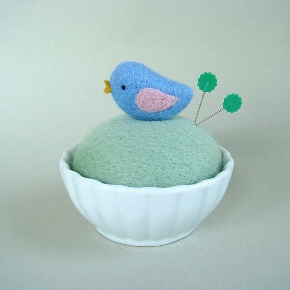 Felted Pincushion