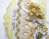 Premade Stitched Embellishment Walk in Truth
