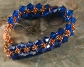 PDF Instructions for Sparkling Rings of Saturn Chainmaille Bracelet