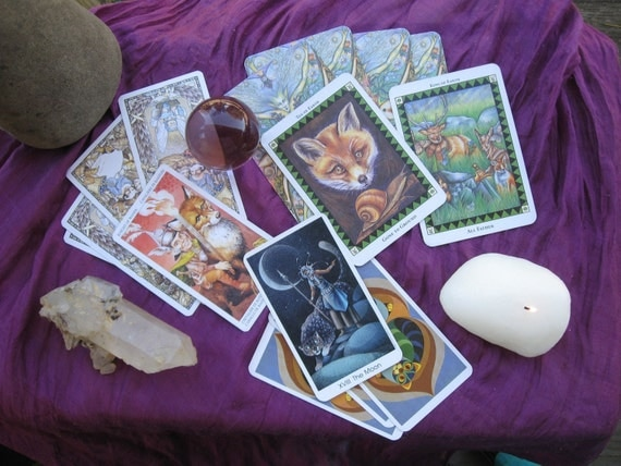 Snap Shot Intuitive Tarot Reading - digitally delivered