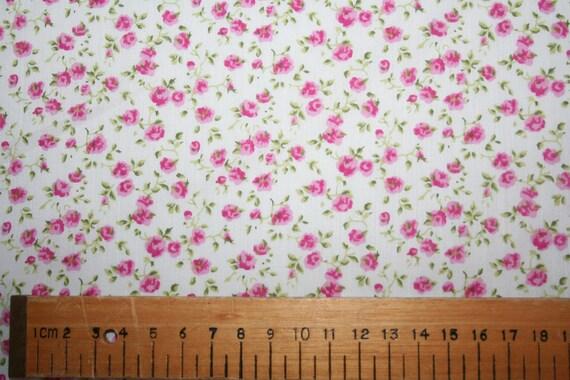 """SPECIAL OFFER Liberty Tana Lawn """"Nina"""" pink fabric 1 metre"""