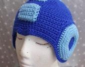 MADE TO ORDER - Mega Man Helmet
