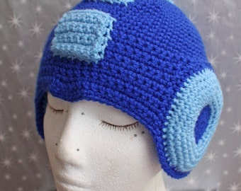 MADE TO ORDER - Mega Man Helmet
