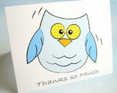 Owl Thank You Greeting Card - Thanks so Much