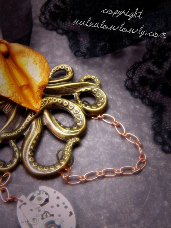 Genus Octopus.-  Yonic Vagina Pendant, mature