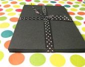 Black Cardstock - 4X6 Paper Pack