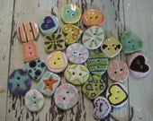RESERVED lot of buttons for karleeart