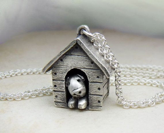 In the dog house necklace