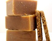 NEW Granola Bar, natural cold process soap, BIG 6 oz. bars scented with essential oils