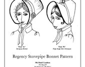 Regency Stovepipe Bonnet Pattern