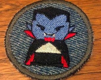 Little Vampire Iron on Patch / Merit Badge