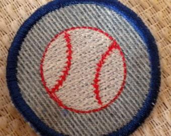 Baseball  Iron-on Patch / Merit Badge