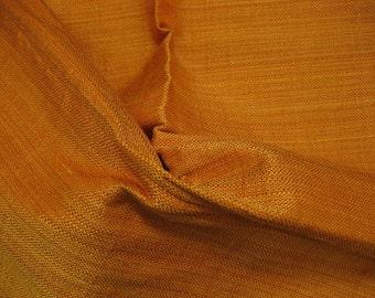 Solid Orange Silk Linen Tweed Lee Jofa DESIGNER FABRIC SAMPLE Gibraltar with lots of extras
