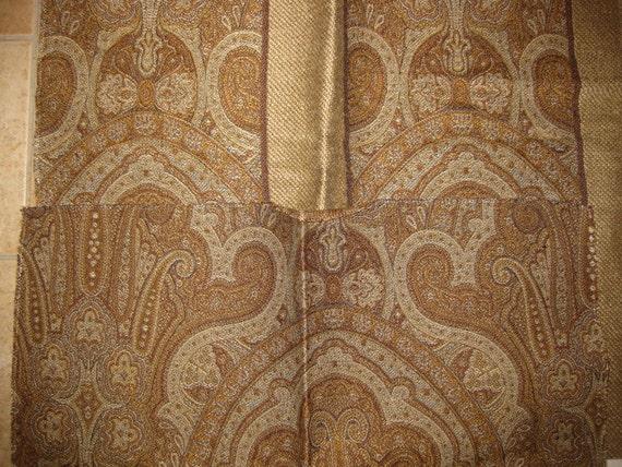 Clarence House Christina Carolina Paisley Designer Fabric Sample Lot Kit
