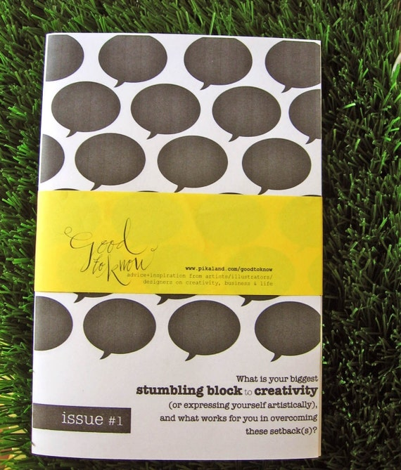Creativity - How to Overcome Stumbling Blocks - Good to Know Issue 1