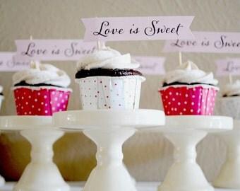Mini Cupcake Banners