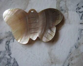 Black Lip Shell Butterfly Pendants