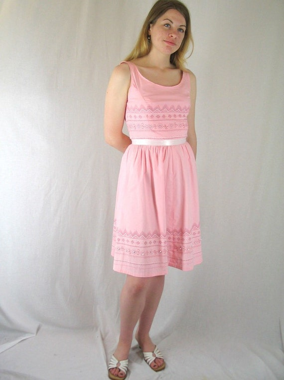Pink Sundress, Modern Size 6, Small