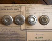 Vintage Art Deco Celluloid Buttons 234