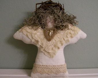 Handmade Shabby Chic Lace Angel