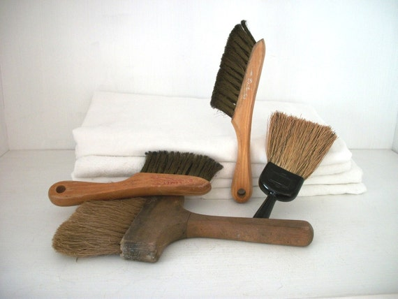SALE- Instant Collection Of Antique Brushes