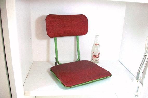 Vintage Stadium Or Boat Seat Cushion