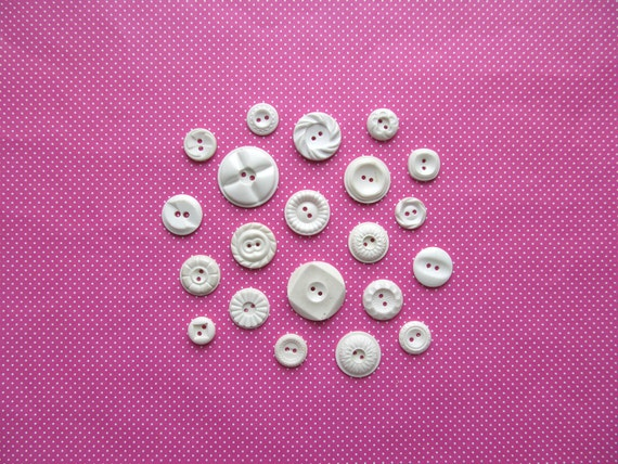 Vintage Housedress Buttons