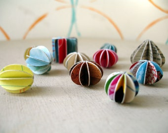 CUSTOM paper earrings