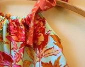 New... DIY Childrens Dress Kit... amy butler summer peony parisian ---DIY Kit Size Small