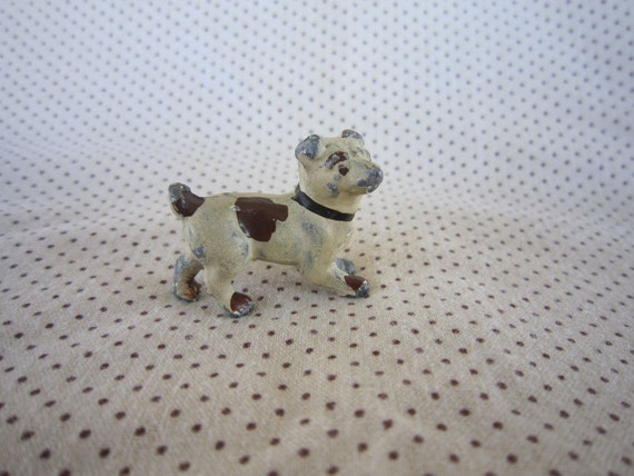 Antique Lead Dog Figurine