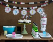 Bow and Arrow Girl's Party Printables