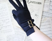 Vintage TWO BUCKLE gloves