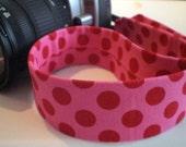 Camera Strap - I polka you, you polka me