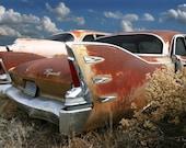 Plymouth Belvedere Photo - Car Art - Office Art - Auto Art - Junkyard Photograph - 24 x 36